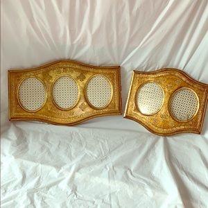 Antique Gold Frames